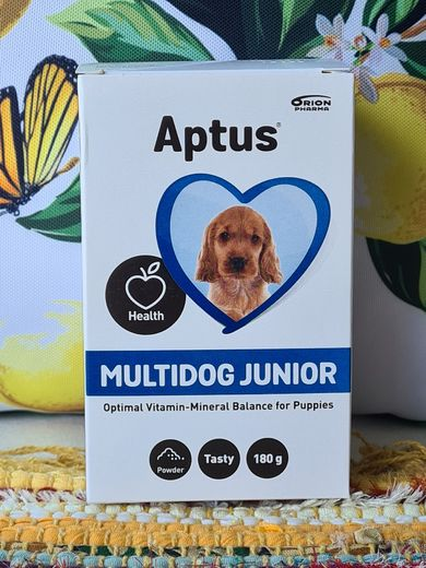 Aptus Multidog JUNIOR jauhe 180g