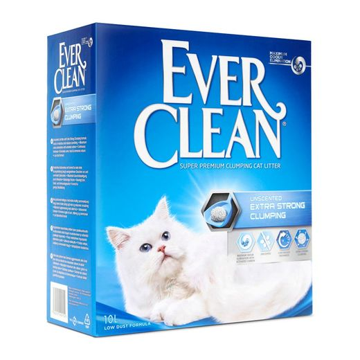 Ever Clean Extra Strong Clumbing kissanhiekka (hajuton) 10l