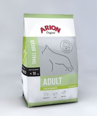 Arion Original Small Breed Kana & Riisi 3kg