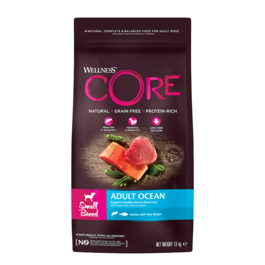 Wellness Core Adult Ocean Small Breed 1,5kg