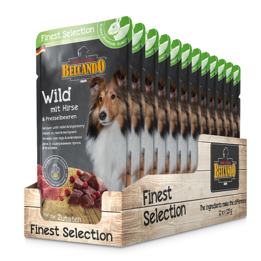 Belcando 125g WILD with millet & lingonberries