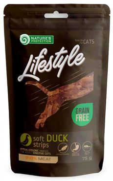 Nature´s Protection Lifestyle CAT Ankka 75g