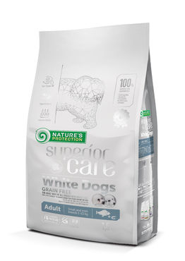 Nature´s Protection Superior Care White Adult Small & Medium Breed 1,5kg